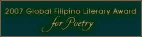 2007 Global Filipino Literary Award for Poetry