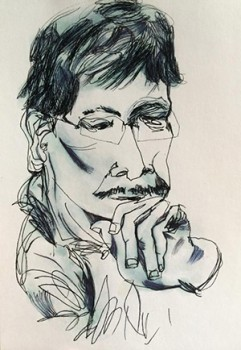 Nanette Villanueva-Early-pen-and-ink