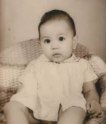 Eileen Tabios as a baby.