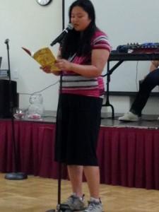 Michelle Bautista poetry eading